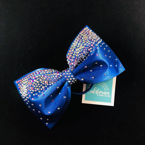 The Kyra Bow- sapphire blue