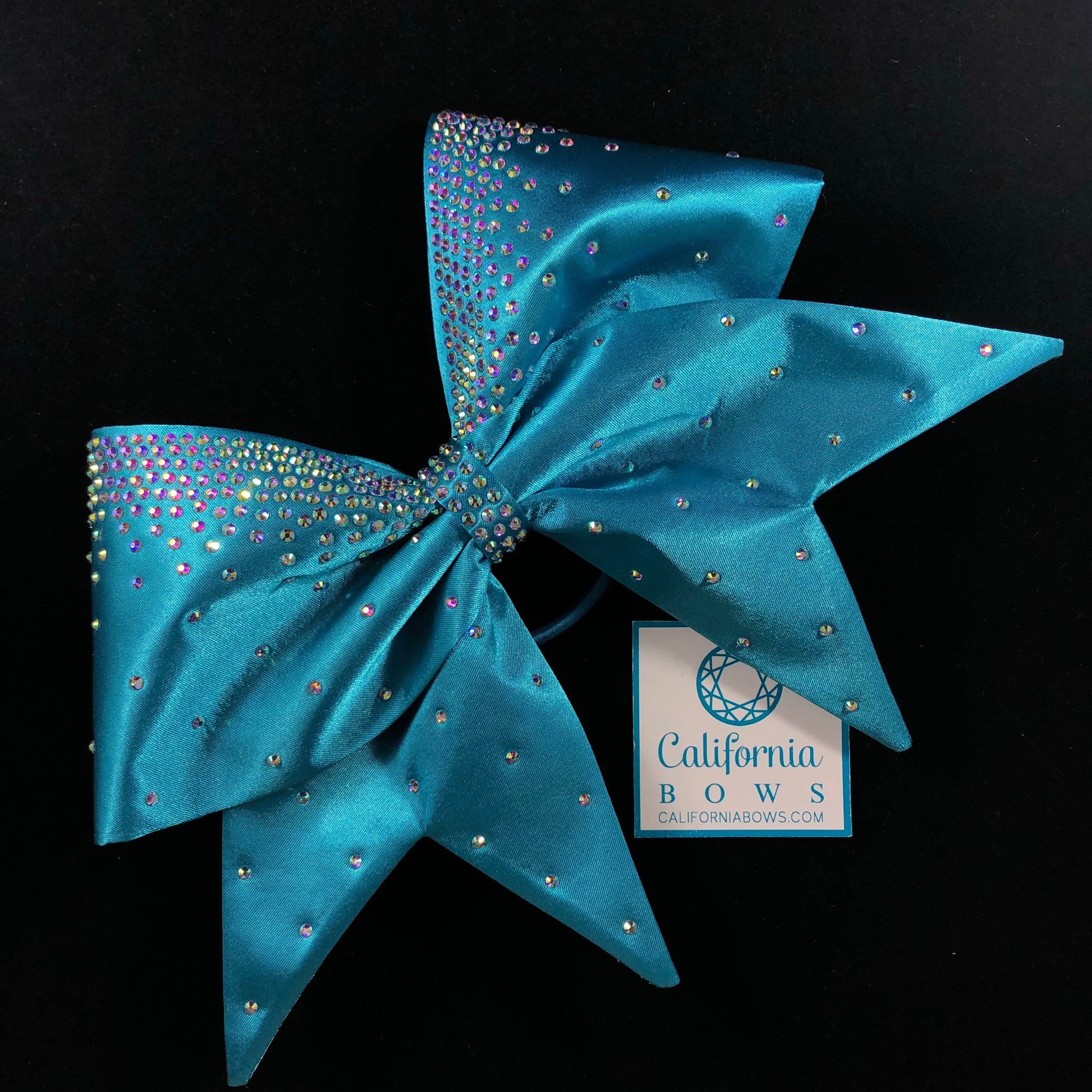 The Audrey Bow- turquoise