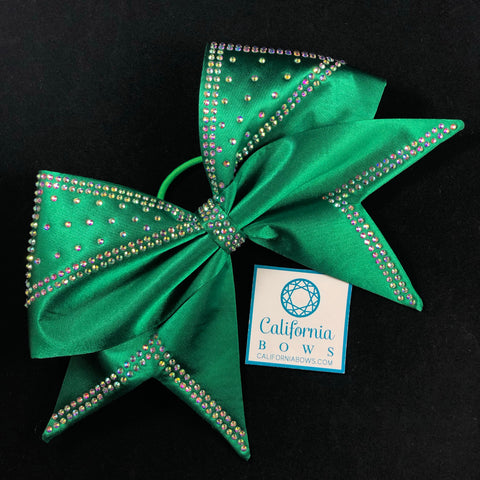 The Mariah Bow- emerald green