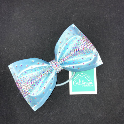 The Olivia Bow- baby blue