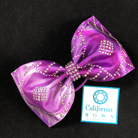 The Adele Bow- purple ombré