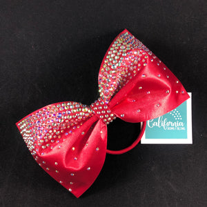 The Kyra Bow- ruby red