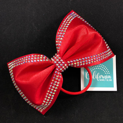 The Tiffany Bow- scarlet red
