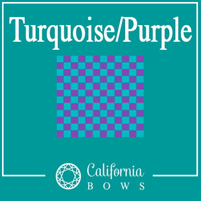 Turquoise & Purple Checkered- PRE-ORDER