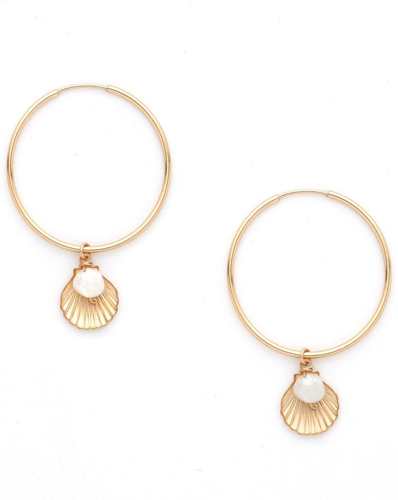 Belle Hoop Earrings KOZAKH