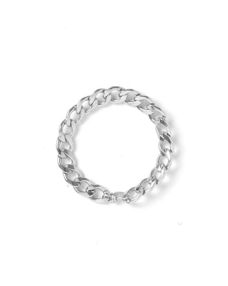 Braided Chain Ring KOZAKH 4 Sterling Silver