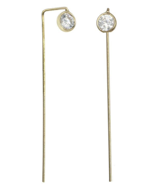 Colleen Earrings - Bar Earrings KOZAKH