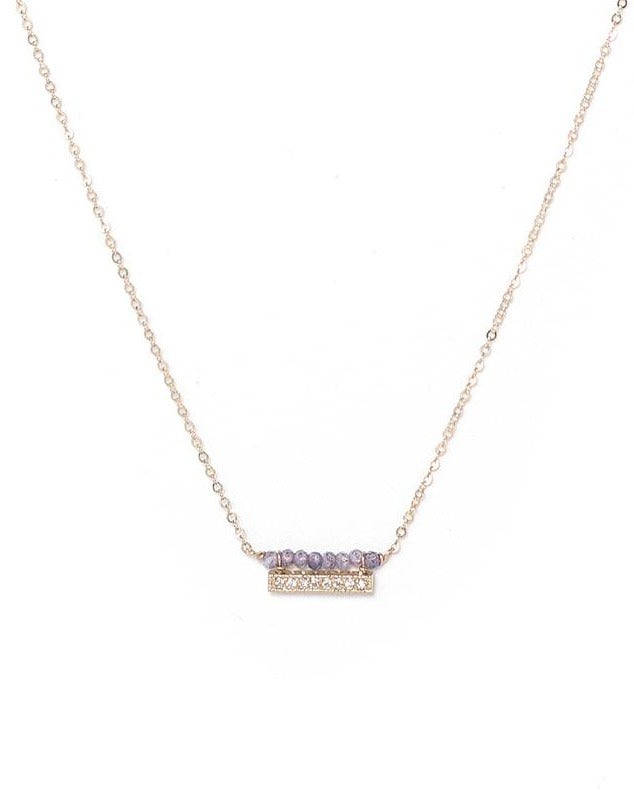 Cully Necklace KOZAKH Tanzanite