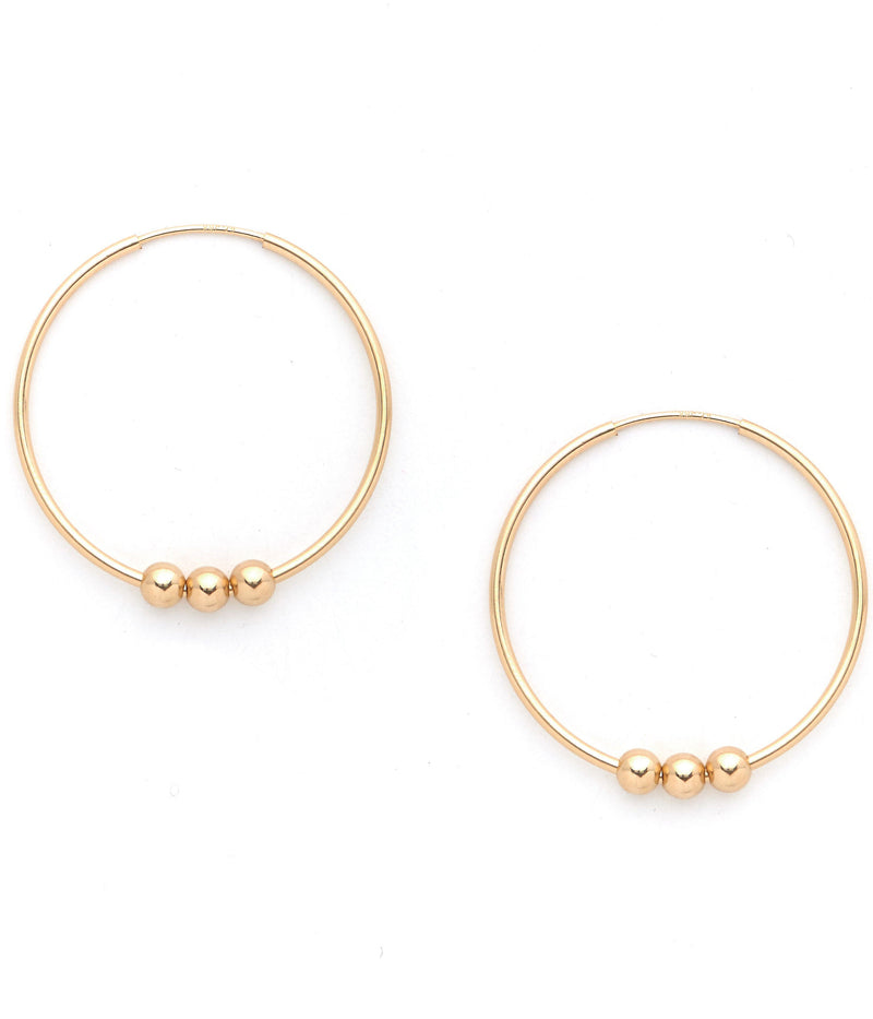 Deesse Hoops Earrings KOZAKH