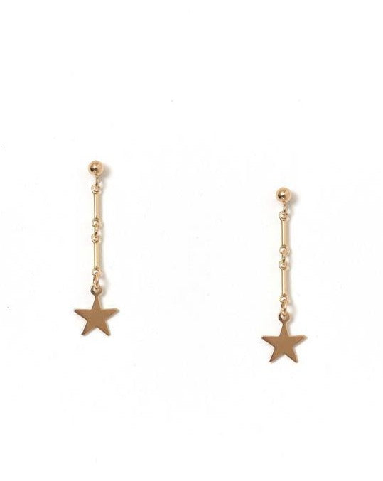 Desos Earrings KOZAKH Star 14K Gold Filled