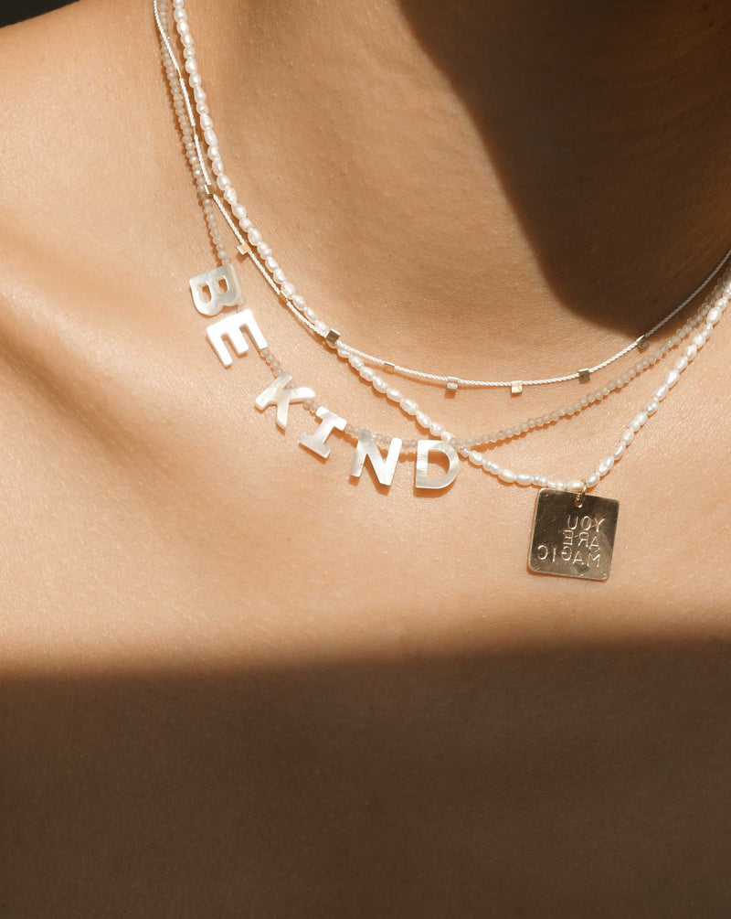 Kind Necklace (customizable)