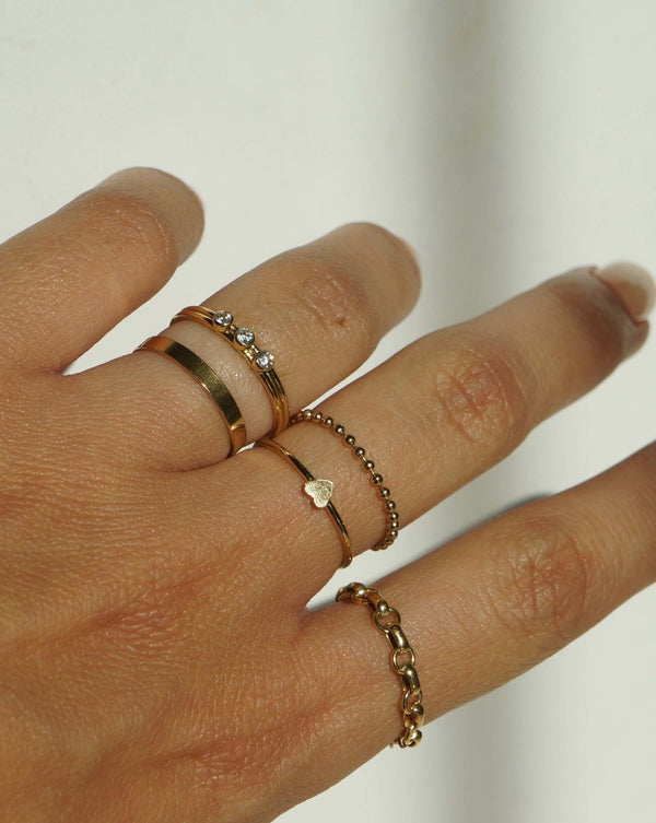 Linked Chain Ring
