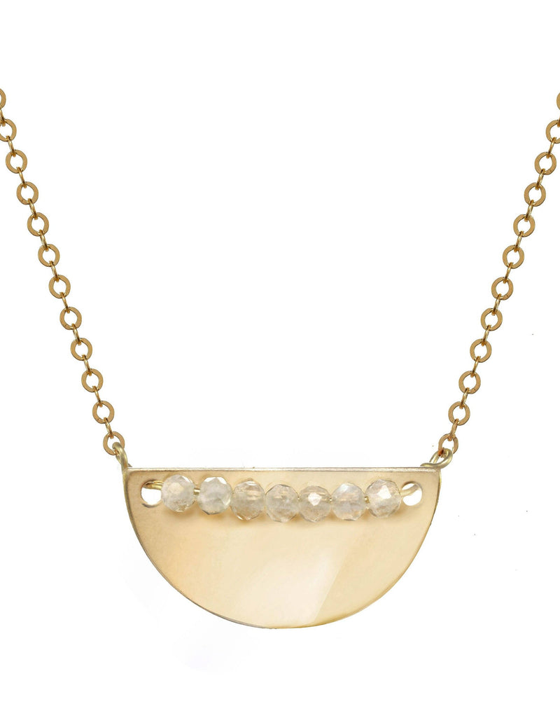 Medina Necklace KOZAKH Moonstone 14K Gold Filled