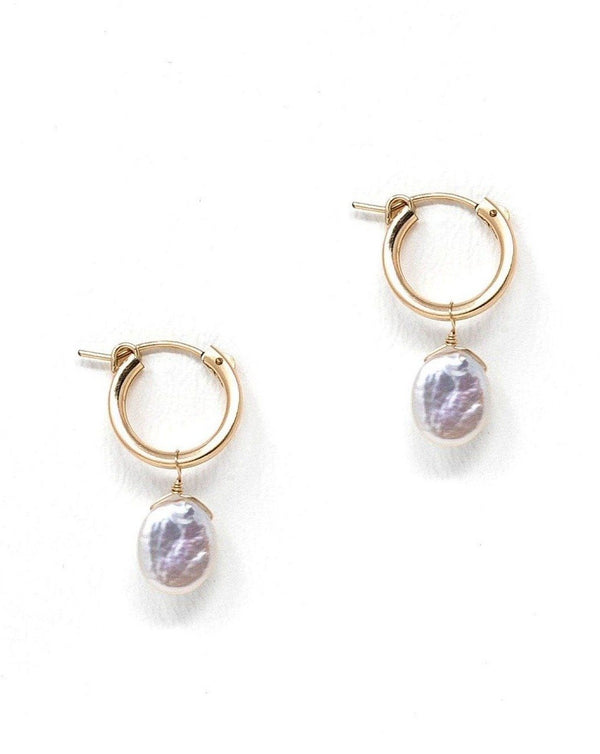 Nancy Hoop Earrings KOZAKH Jewelry
