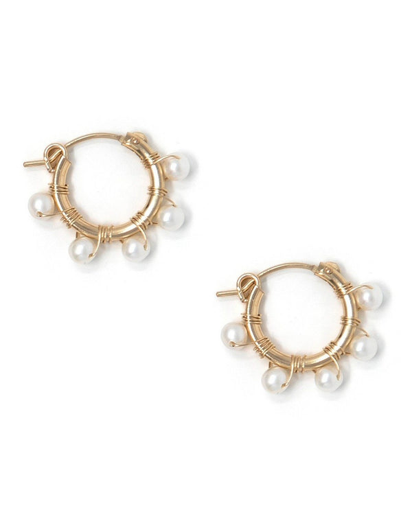 Natasha Hoop Earrings