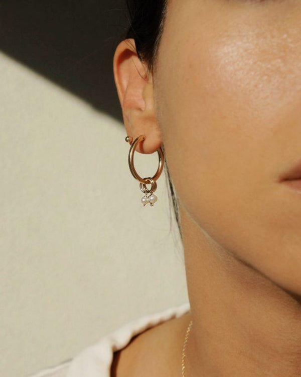 Noelle Hoop Earrings KOZAKH