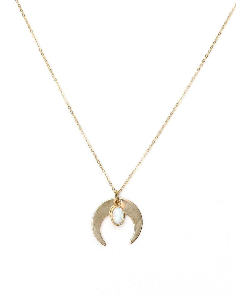 Opal Moon Necklace KOZAKH