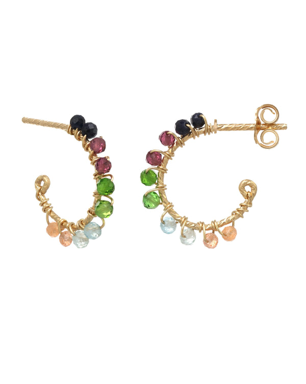 Sadie Hoop Earrings KOZAKH
