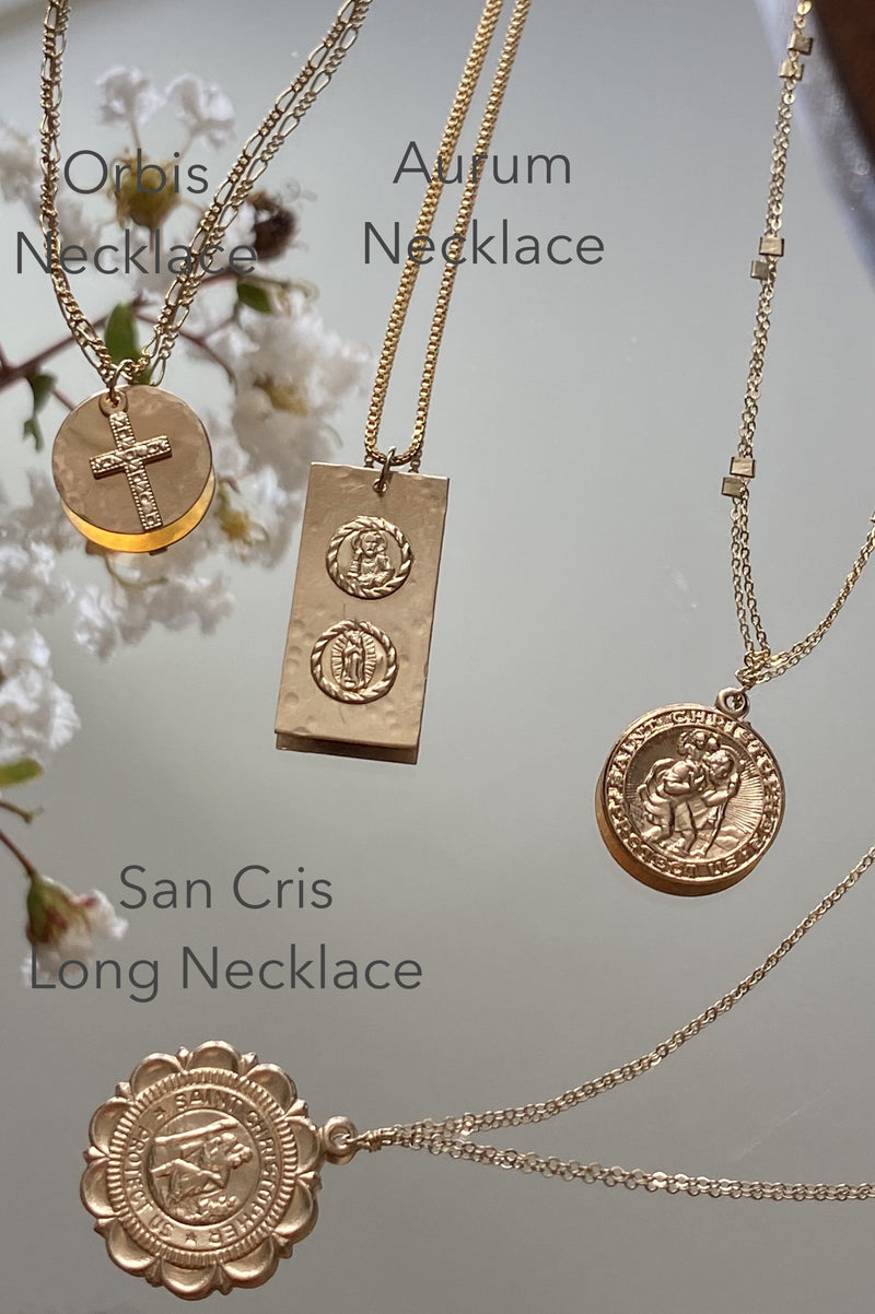San Cris Long Necklace
