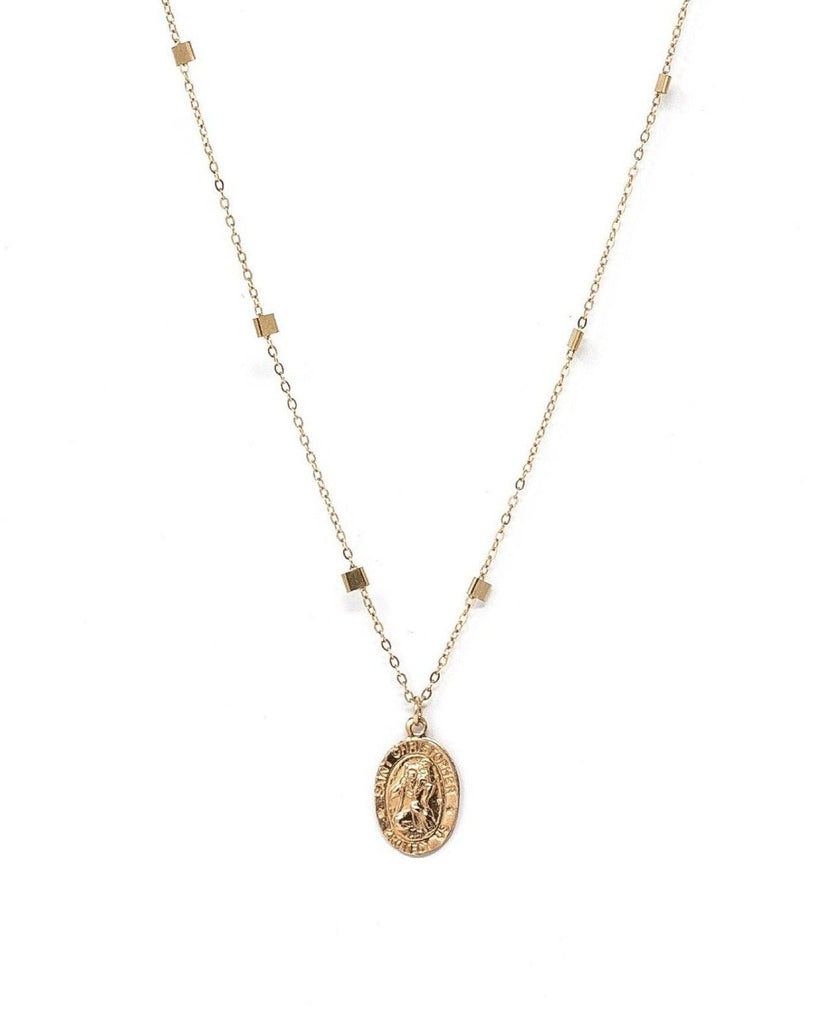 San Cris Oval Necklace KOZAKH