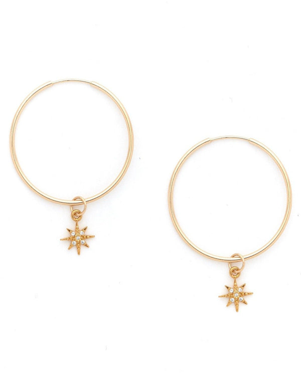 Soliel Hoop Earrings KOZAKH