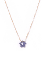 Star Necklace KOZAKH Jewelry Iolite 14K Gold Filled