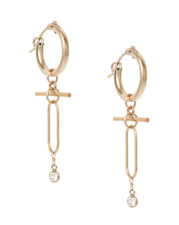 Tabetha Hoops Earrings KOZAKH