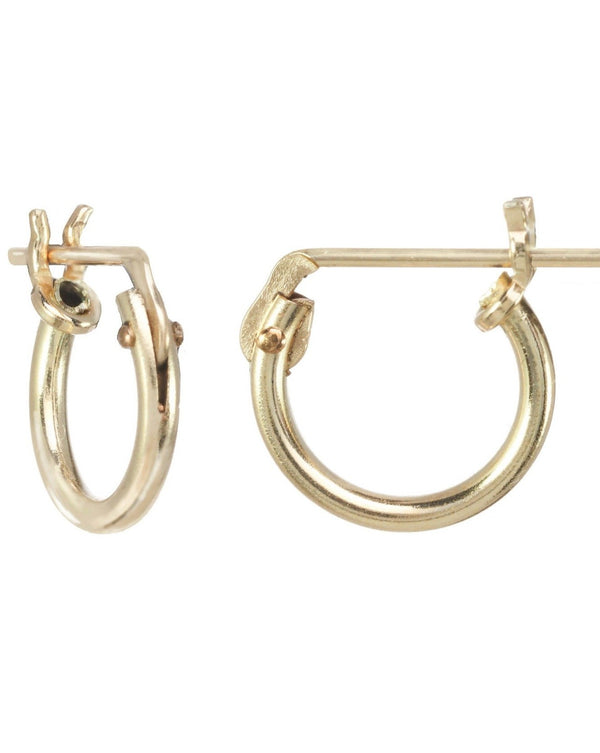 Thin Micro Hoop Earrings KOZAKH
