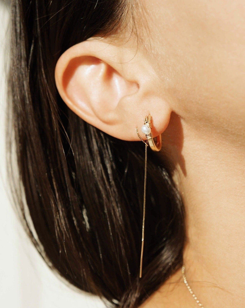 Threader Tie Earrings KOZAKH