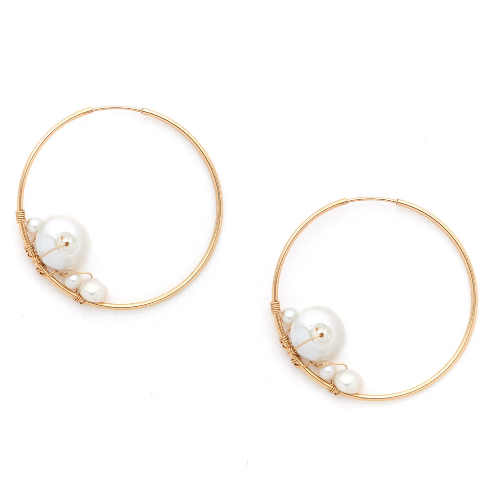 Tulum Hoop Earrings KOZAKH