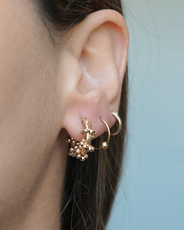 Valla Hoop Earrings KOZAKH