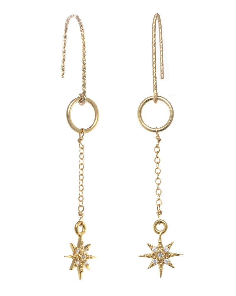 You Stardrop Earrings KOZAKH