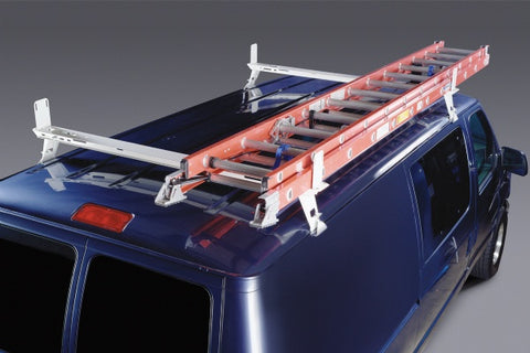 Utility Roof Rack Chevy Express, GMC Savana, Ford Econoline - Van Accessories Direct