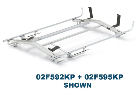 Double Locking Ladder Rack Chevy City Express 15-19 - Van Accessories Direct