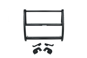 Front Black Center Grille Guard Chevy Express, GMC Savana 03-19 - Van Accessories Direct