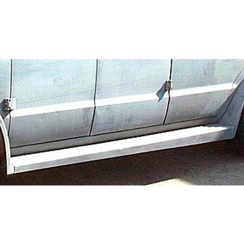 Fiberglass Van Runningboards for 5pc Mud Flare Kit Chevy,GMC G-Series Van - Van Accessories Direct