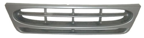 Factory Replacement Silver Front Grille Ford Econoline Van 97-02 - Van Accessories Direct