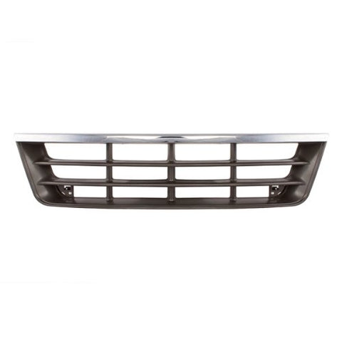Factory Replacement Chrome Front Grille Ford Econoline Van 92-96 - Van Accessories Direct