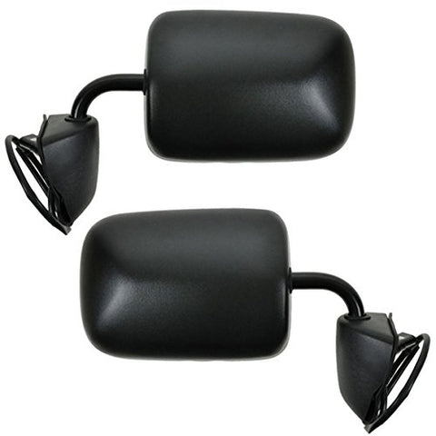 Replacement Electric Power Side Mirrors Dodge Ram Van 94-97 - Van Accessories Direct