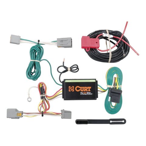 Curt Custom Trailer Wiring Harness Ford Transit Connect 14-19 - Van Accessories Direct