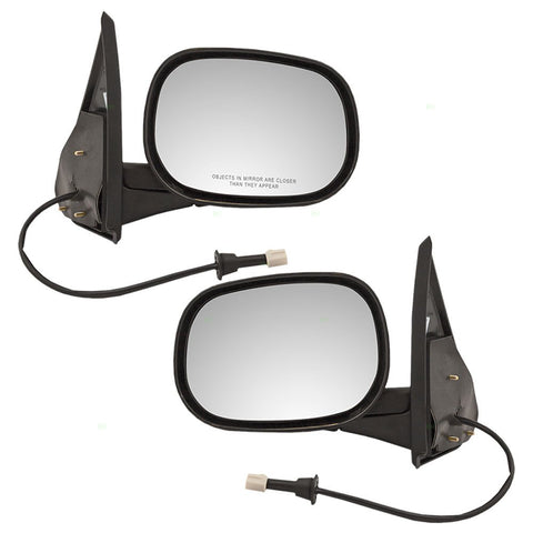 Replacement Electric Power Side Mirrors Dodge Ram Van 98-03 - Van Accessories Direct