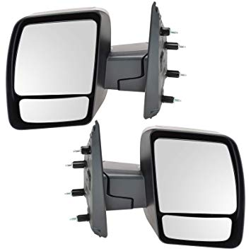 Replacement Power Side Mirrors Nissan NV Full Size Van 12-18 - Van Accessories Direct