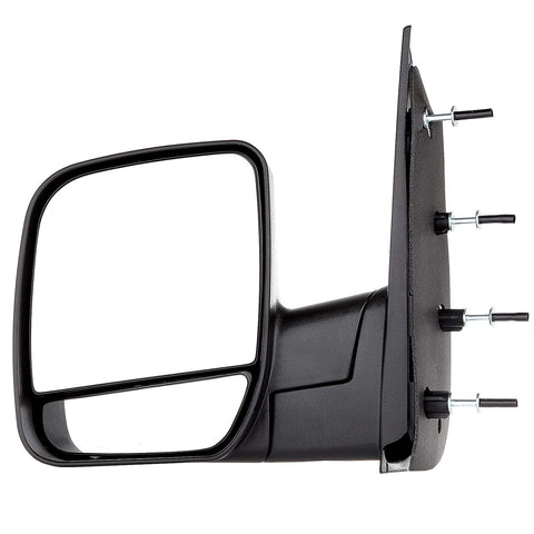 Replacement Manual Side Mirrors Ford Econoline Van 02-14 - Van Accessories Direct