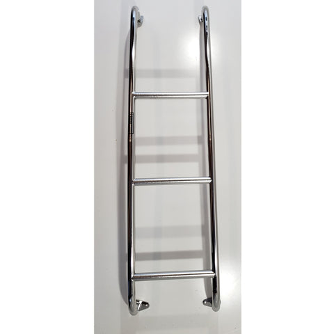 Stainless Steel Van Ladder Ford Transit Van 2015-2019 - Van Accessories Direct