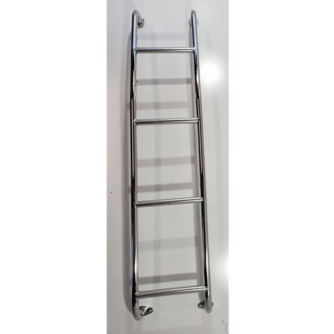 Stainless Steel Van Ladder Nissan NV Full Size Van 2012-2019 - Van Accessories Direct