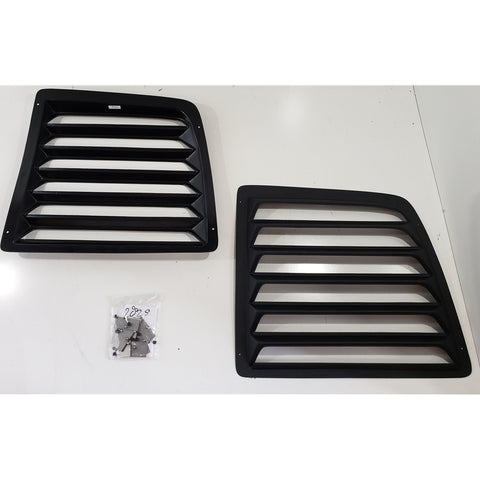 Rear Window Louvers Chevrolet Express, GMC Savana Van 96-17 - Van Accessories Direct