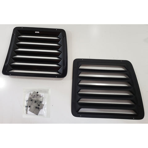 Rear Window Louvers Ford Econoline Van 1992-2018 - Van Accessories Direct