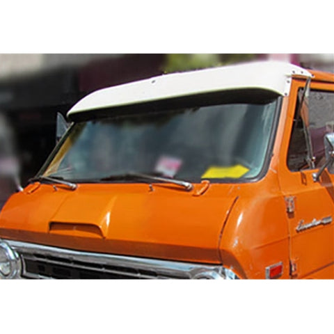 Custom Front Windshield Visor Ford Econoline Van 1969-1974 - Van Accessories Direct