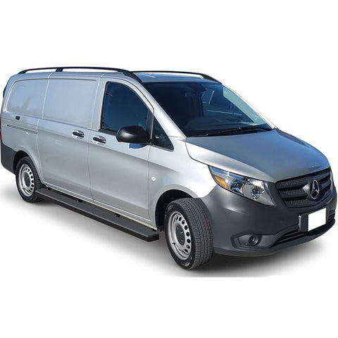 "Alumi-Board 5"" Side Bars Mercedes-Benz Metris Van 2016-2019 - Van Accessories Direct"