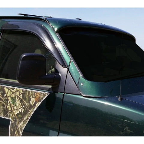 Custom Front Windshield Visor CVII Chevy Express, GMC Savana 96-18 - Van Accessories Direct